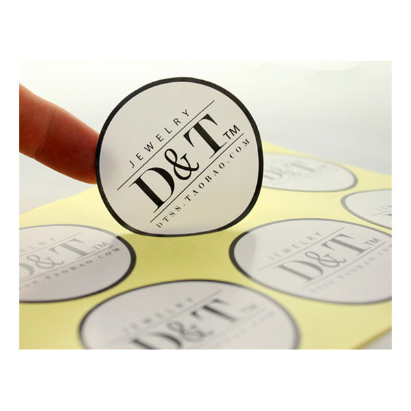 custom cheap print product label sticker